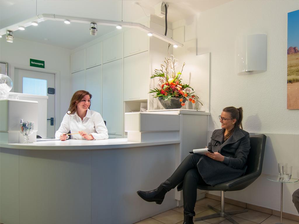 Anmeldung bei der Privatpraxis für Zahnheilkunde Dr. Heimann und Kollegen