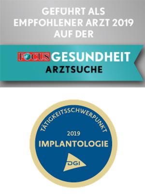 Zahnarzt Frankfurt - Spezialist für Implantologie und Wurzelkanalbehandlung Siegel